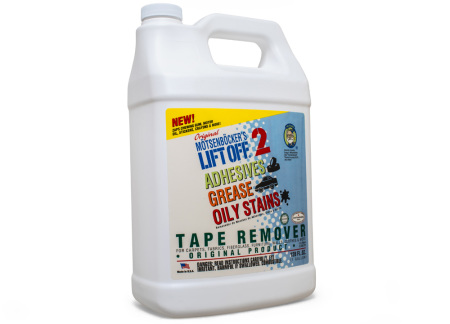 LIFT OFF Adhesives, Grease & Oily Stains Remover - odstraňovač lepidel, samolepek a mastnoty, 3,78 l