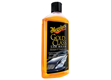 Meguiar's Gold Class Car Wash Shampoo & Conditioner - extra hustý autošampon s kondicionéry, 473 ml
