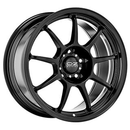 OZ I-Tech ALLEGGERITA HLT 5F 12x18 5x130 45 GLOSS BLACK