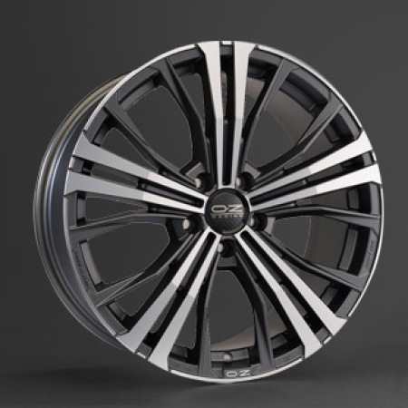 OZ Perform. SUV-Offroad CORTINA 10x19 5x130 55 MATT DARK GRAPHITE DIAMOND CUT