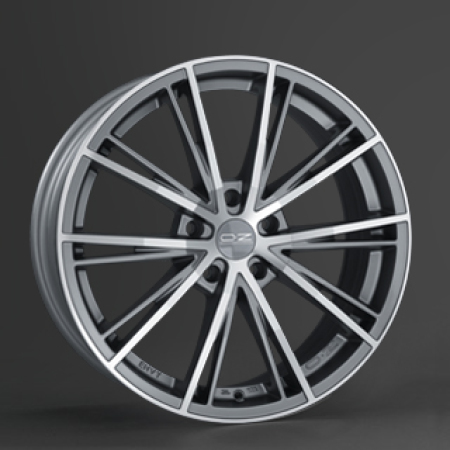 OZ X-Line ENVY 7x15 4x98 37 MATT SILVER TECH DIAMOND CUT