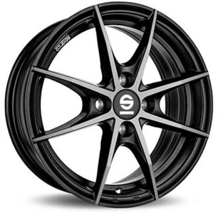 SPARCO SPARCO SPARCO TROFEO 4 7x17 4x108 47 FUME BLACK FULL POLISHED