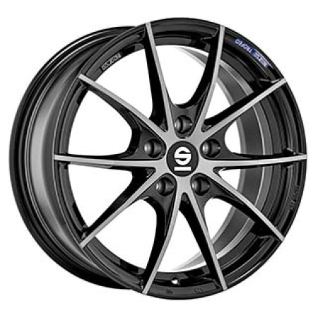 SPARCO SPARCO SPARCO TROFEO 5 7,5x17 5x110 36 FUME BLACK FULL POLISHED