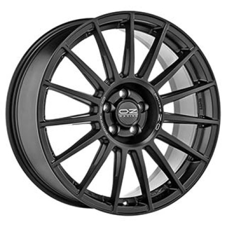 OZ All-Terrain SUPERTURISMO DAKAR 8,5x20 5x112 3 MATT BLACK SILVER LETTERING