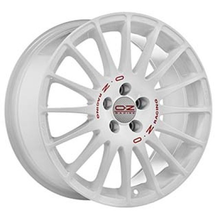 OZ SPORT SUPERTURISMO WRC 6x14 4x108 15 WHITE RED LETTERING