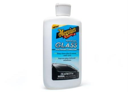 Autokosmetika Meguiar's Perfect Clarity Glass Polishing Compound - leštěnka na skla, 236 ml