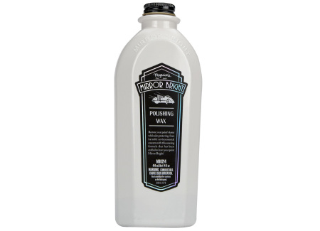 Autokosmetika Meguiar's Mirror Bright Polishing Wax - leštěnka s voskem, 414 ml