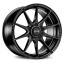 OZ I-Tech FORMULA HLT 7,5x18 5x100 47 MATT BLACK