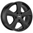 MSW ALL SEASON MSW 19 W 6,5x15 4x108 18 MATT BLACK