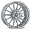 OZ All-Terrain SUPERTURISMO DAKAR 10,5x21 5x120 4 MATT RACE SILVER BLACK LETTERING