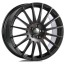 OZ SPORT SUPERTURISMO GT 7x17 5x100 38 MATT BLACK RED LETTERING